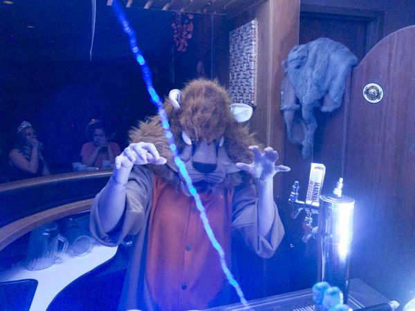 Halloween at UAF's Pub, 2012.