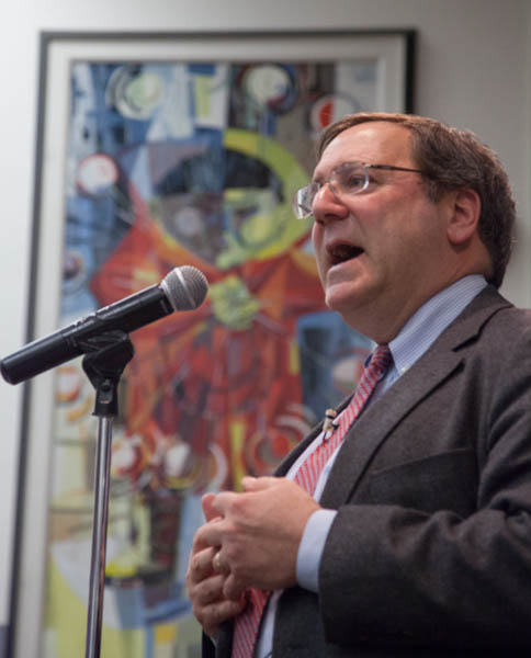 David Sanger lectures at UAF