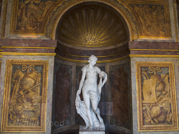 Statue, Palace of Versailles.