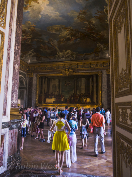 Beginning the tour of the Palace, July 12, 2013.