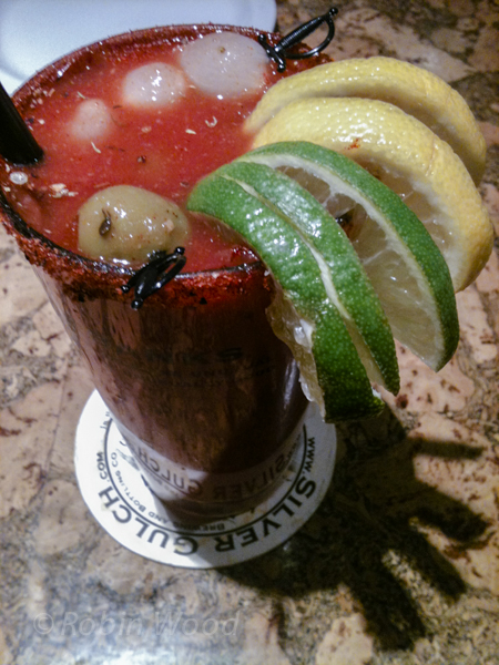 Colorful and salubrious bloody marry.