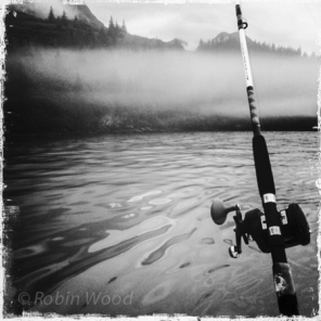 Fishing for silver salmon in Prince William Sound.