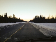 Leaving Tox, Alaska, on the morning of March 7, 2014.