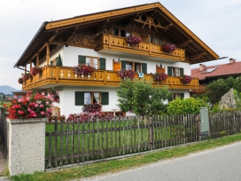 Bavarian architecture must follow strict codes, this was one of the nicest examples.