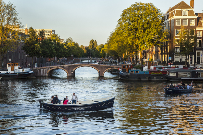 Even boats around canals are incredibly popular.