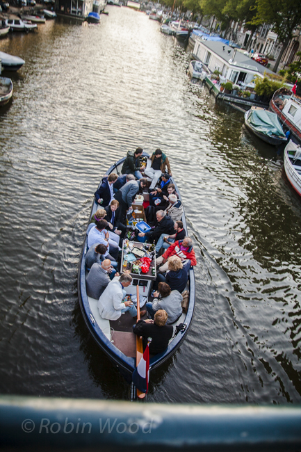 Canal boaters frequently fill boats to max capacity.