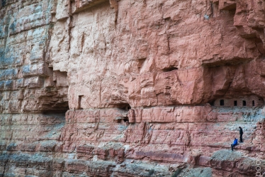 Exploring the centuries-old Nankoweap Granaries deep in the heart of the Grand Canyon.