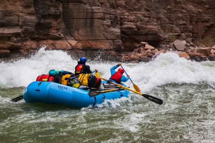 White water is guaranteed to raise some hairs, regardless of a paddler's experience.